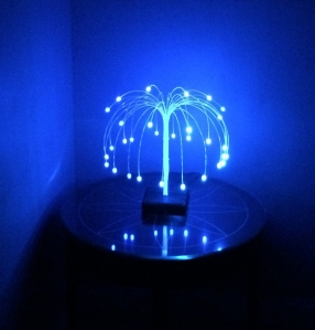 Gumdrop Lamp - Blue