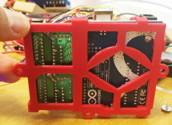 Printed circuit board mount.