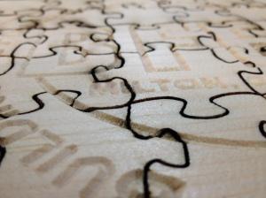 puzzle closeup